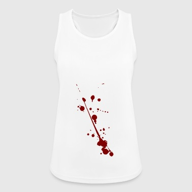 Blood Splatter - Frauen Tank Top atmungsaktiv