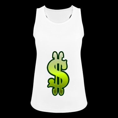 Dollar sign dollar money - Women's Breathable Tank Top
