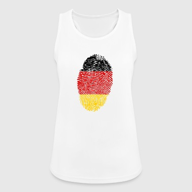 Imprint Germany Imprint with the flag Germany - Women's Breathable Tank Top