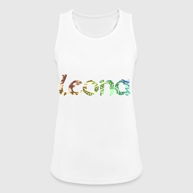 Leona Name First name - Women's Breathable Tank Top
