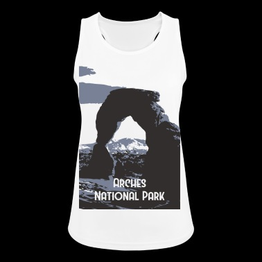Arches National Park - Tank top damski oddychający