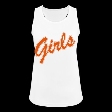 Girls. Girl Power. Girl. Friends. Gifts for Girls. - Women's Breathable Tank Top