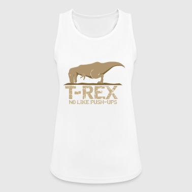 T-Rex No come push up - Top da donna traspirante