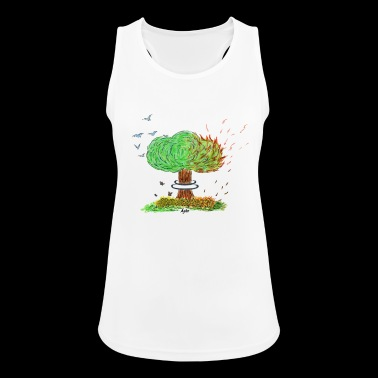 NUCLEAR TREE - Women's Breathable Tank Top