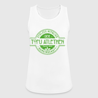Tofu Vegan Athlete fellesskap gave - Pustende singlet for kvinner