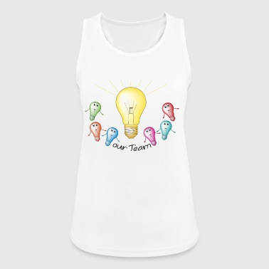 group bulb - Women's Breathable Tank Top