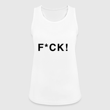 fuck black with asterisks - Women's Breathable Tank Top