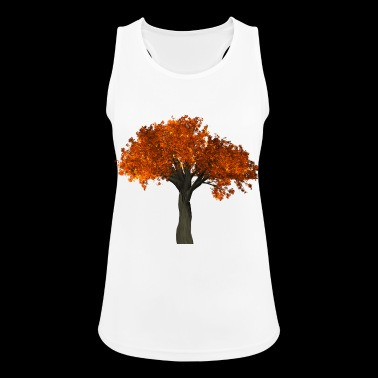 Autumn tree Autumn season - Women's Breathable Tank Top