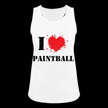 Paintball - Hobby - Ocio - Gotcha - Regalo - Camiseta de tirantes transpirable mujer