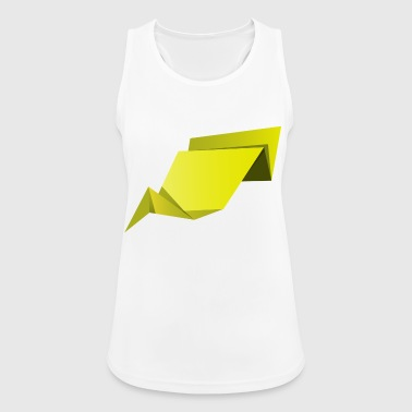 origami paper plane paper airplane37 - Women's Breathable Tank Top