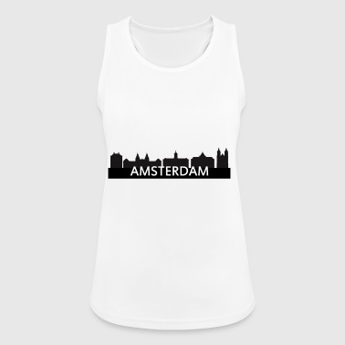 skyline amsterdam - Women's Breathable Tank Top