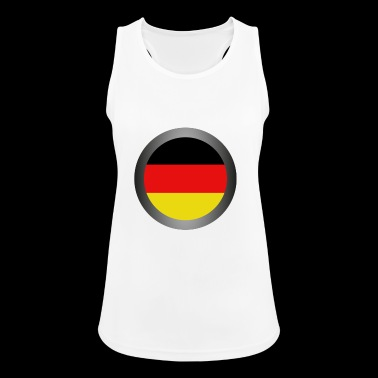 flag of Germany - Women's Breathable Tank Top