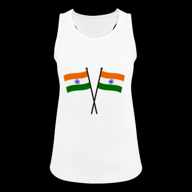 india flag - Women's Breathable Tank Top