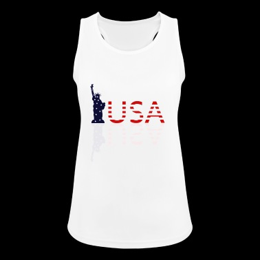 Statue of Liberty - Women's Breathable Tank Top
