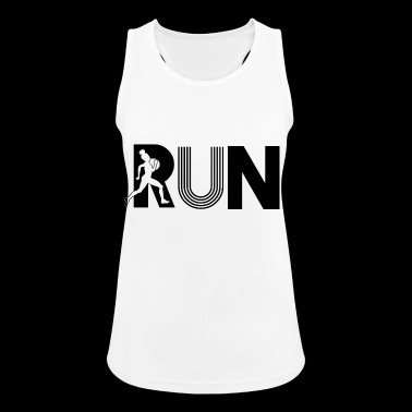 run run - Women's Breathable Tank Top