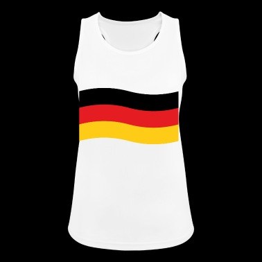Germany flag - Women's Breathable Tank Top