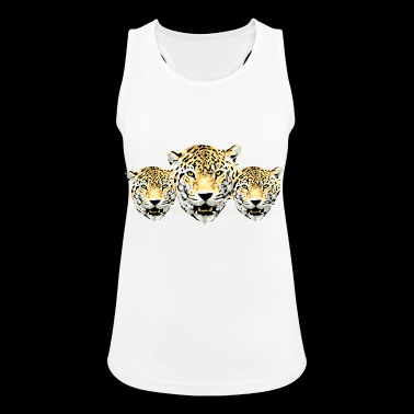 leopards - Women's Breathable Tank Top