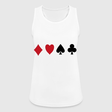 diamonds - Women's Breathable Tank Top