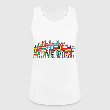 Nations - Women's Breathable Tank Top