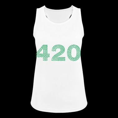 420 potheads - Women's Breathable Tank Top