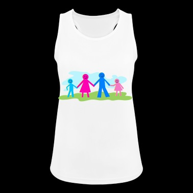 family - Women's Breathable Tank Top