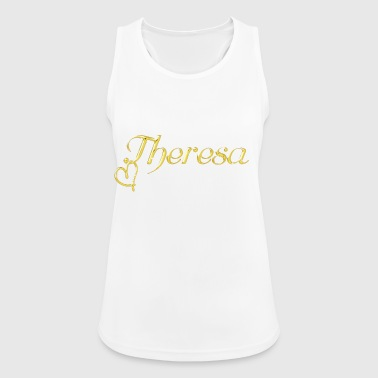 Theresa name first name women name day - Women's Breathable Tank Top