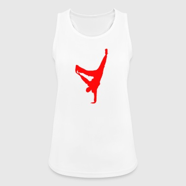 break dancing - Women's Breathable Tank Top