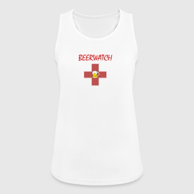 Beerwatch small logo - Women's Breathable Tank Top