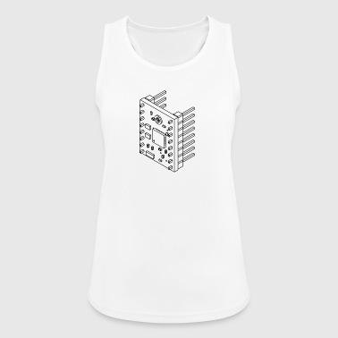 A4988 (no text). - Women's Breathable Tank Top
