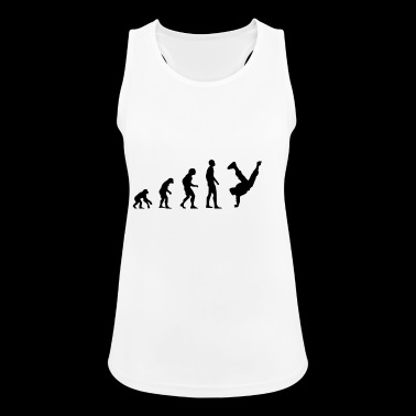 breakdancer - Women's Breathable Tank Top