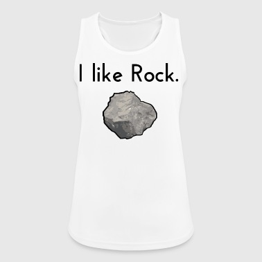 I like rock - Women's Breathable Tank Top