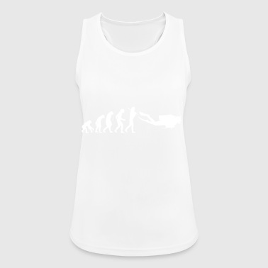 Diving Diving Diving Diver - Women's Breathable Tank Top