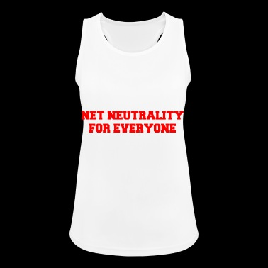 Net Neutrality for everyone - Women's Breathable Tank Top