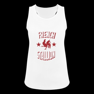 French Stallion - Women's Breathable Tank Top