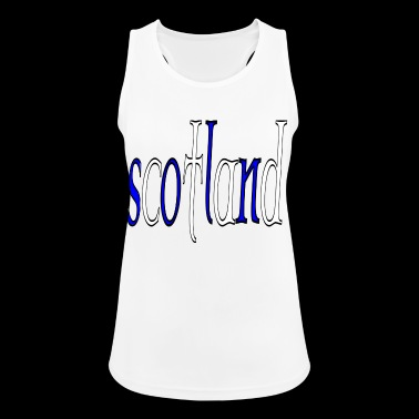 scotland 3 - Women's Breathable Tank Top