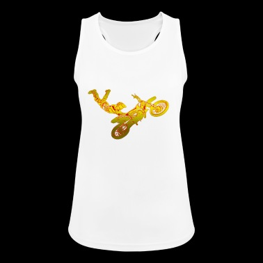Motocross Dirt Jump - Frauen Tank Top atmungsaktiv