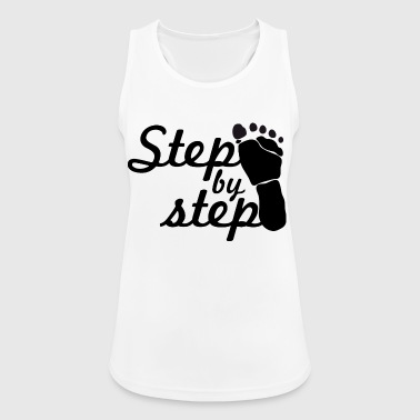 step by step - Women's Breathable Tank Top