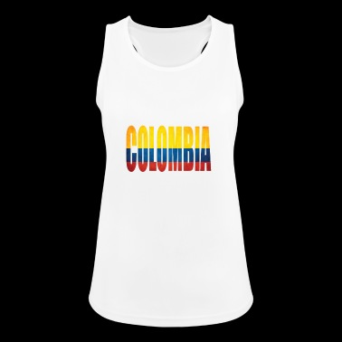 Colombia - Women's Breathable Tank Top