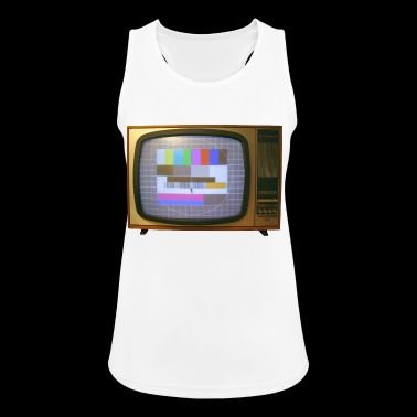 Vintage TV - Pustende singlet for kvinner