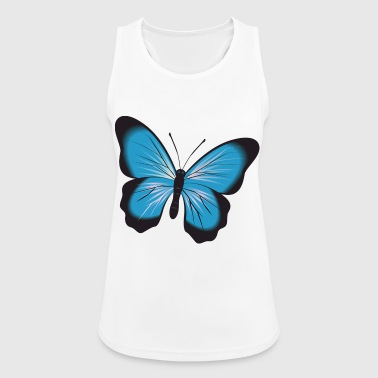 Butterfly illustration butterfly animal insect - Women's Breathable Tank Top