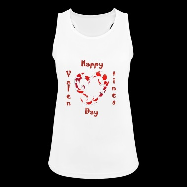 Valentine, Valentine's Day, Valentines, love - Women's Breathable Tank Top