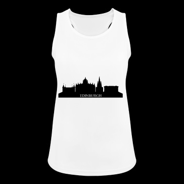 Edinburgh Skyline - Frauen Tank Top atmungsaktiv