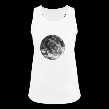 Moon Space Space Space Gift - Vrouwen tanktop ademend