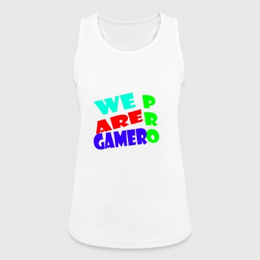 WE ARE PRO GAMER - Women's Breathable Tank Top
