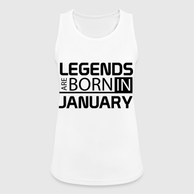 January - Women's Breathable Tank Top
