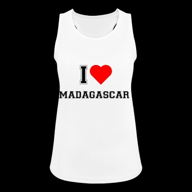 I love Madagascar - Women's Breathable Tank Top