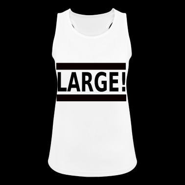 large - Women's Breathable Tank Top