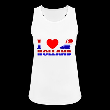 HOLLAND - Frauen Tank Top atmungsaktiv