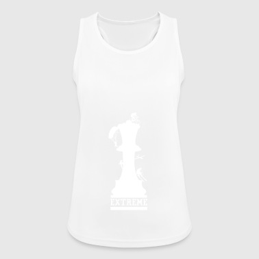 Chess is sport - extreme sport for the brain - Women's Breathable Tank Top