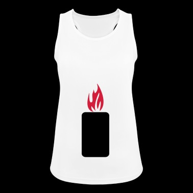 mobile phone brand - Women's Breathable Tank Top